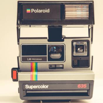 Vintage Polaroid-Kamera