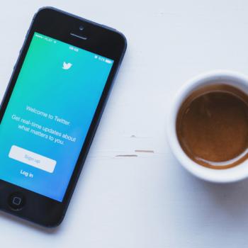iPhone zeigt twitter app
